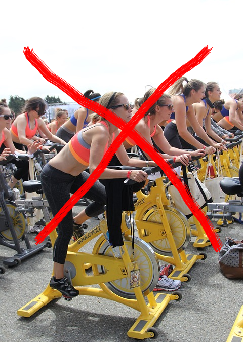 Why not to choose spin classes